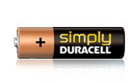 Simply Duracell Batterier