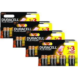 Duracell Plus Power AA 32 Packs Batteries