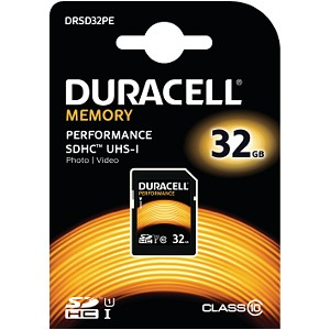 32GB SDHC Class 10 UHS-I Memory Card