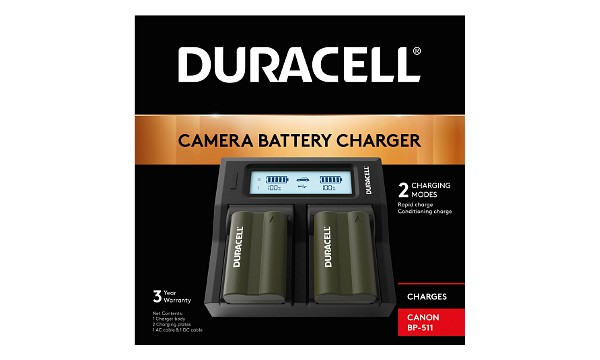 M7222 Canon BP-511 Dual Battery Charger
