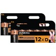 Duracell Plus Power D Size (Pack of 12)